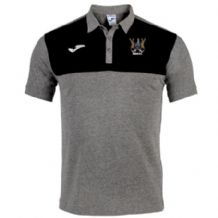 Ards FC Winner Polo - Melange Medium-Black
